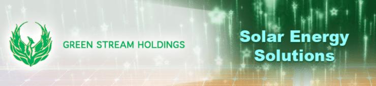 Green Stream Holdings Files-10-Q